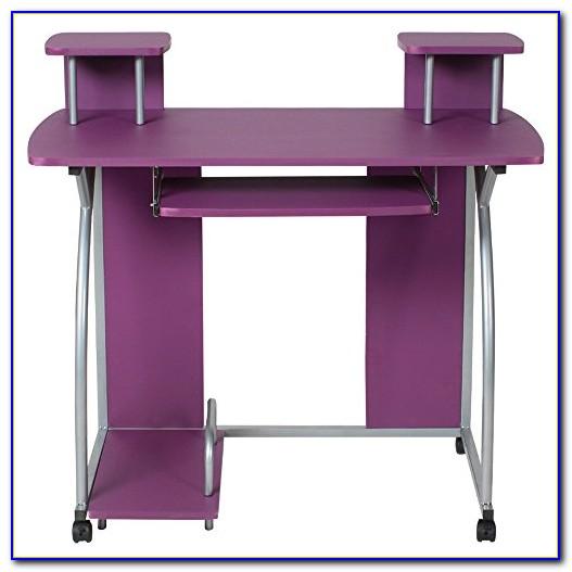 Schreibtisch Set Lila