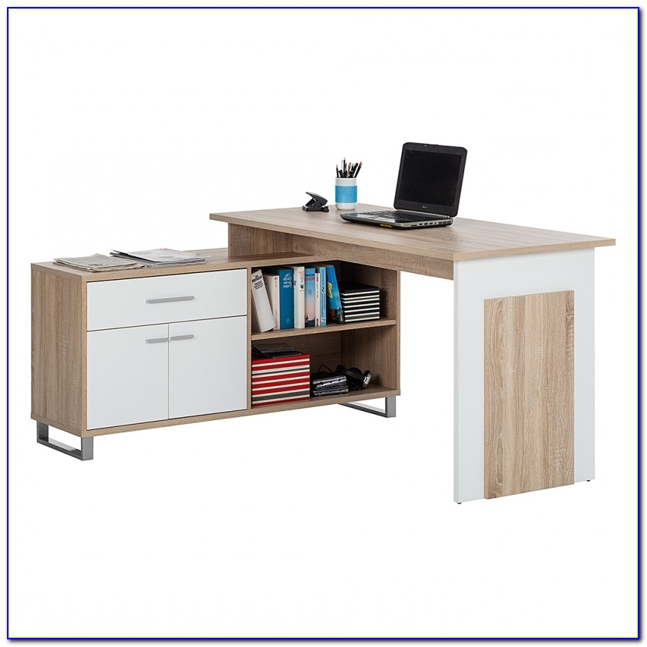 Schreibtisch Sonoma Eiche 120 Cm