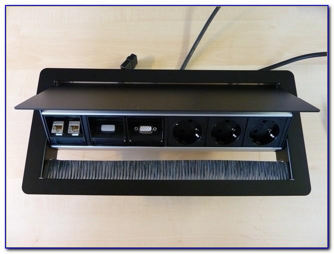 Schreibtisch Steckdose Rj45