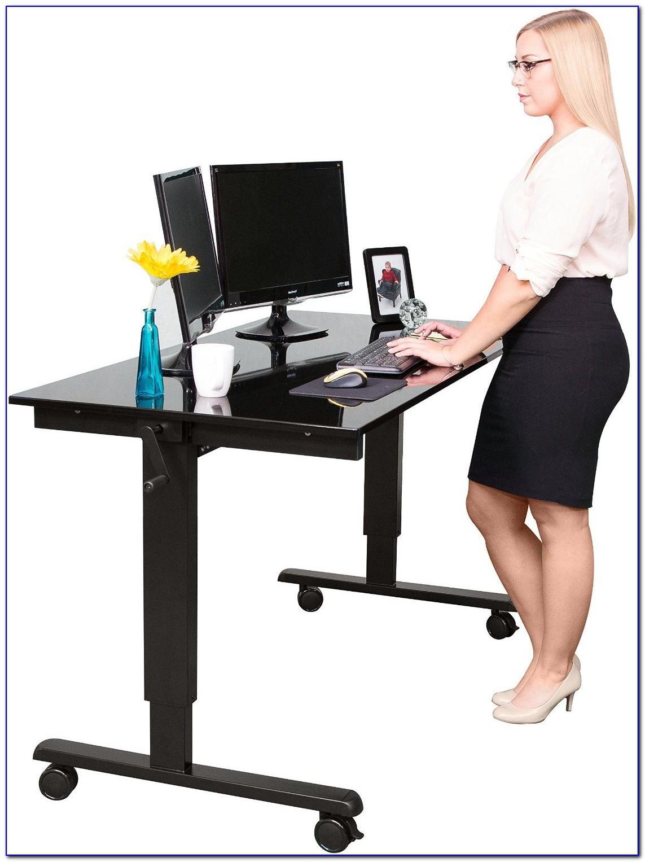 Schreibtisch Stehen Arbeiten