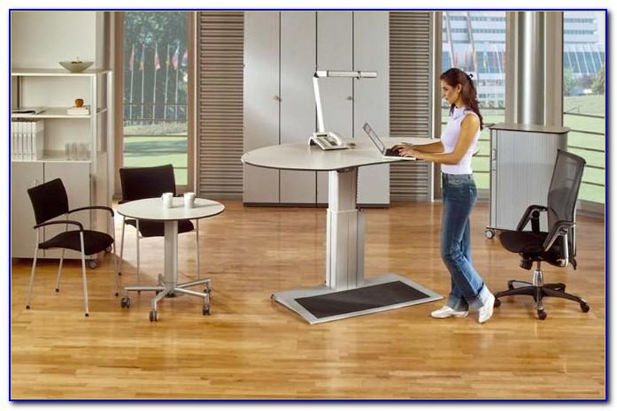 Schreibtisch Stehen Höhe