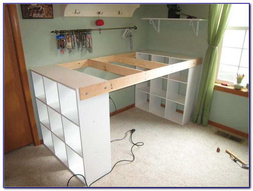 Schreibtisch Tanga Bauanleitung