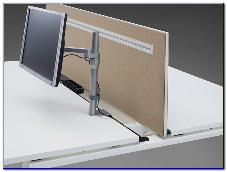 Schreibtisch Trennwände Schallschutz
