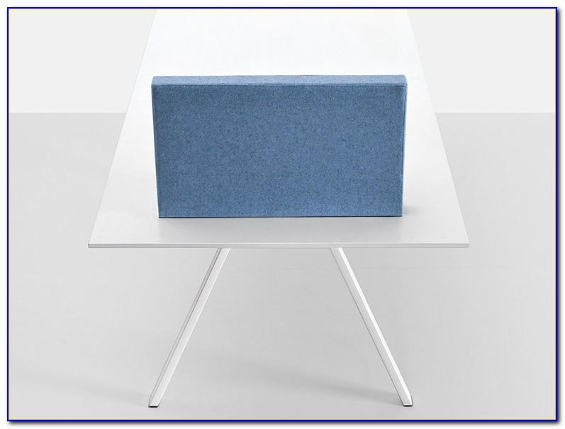Schreibtisch Trennwand Pinnwand