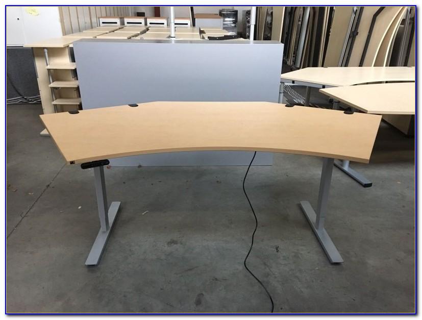 Schreibtisch Untergestell Chrom