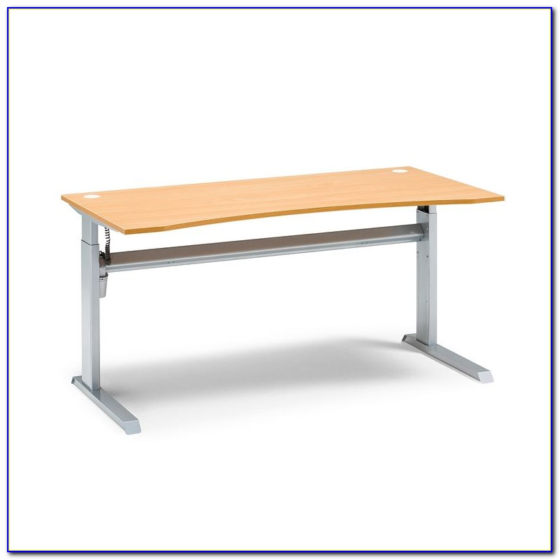 Schreibtisch Untergestell Holz