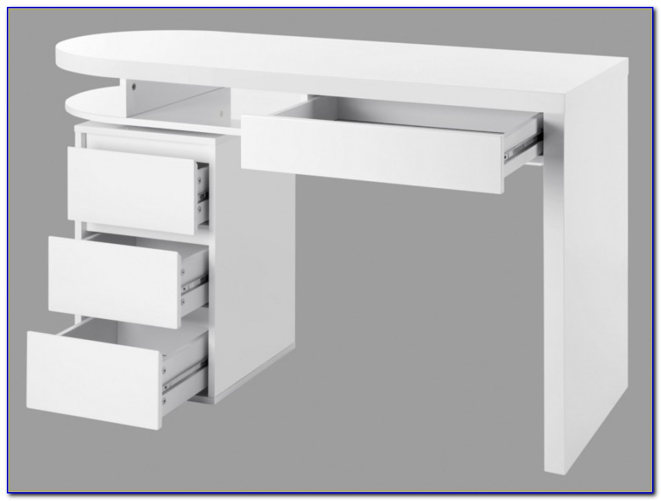 Schreibtisch Unterschrank Holz