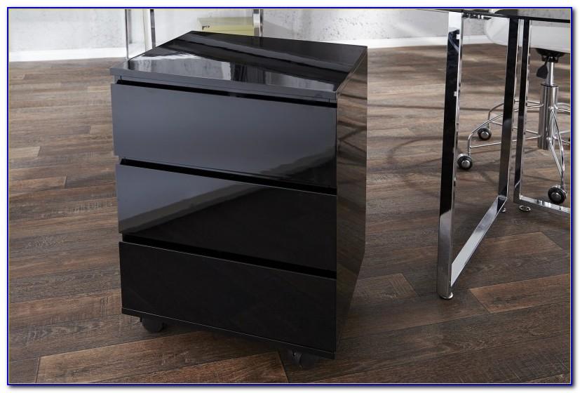 Schreibtisch Unterschrank Mit Schubladen