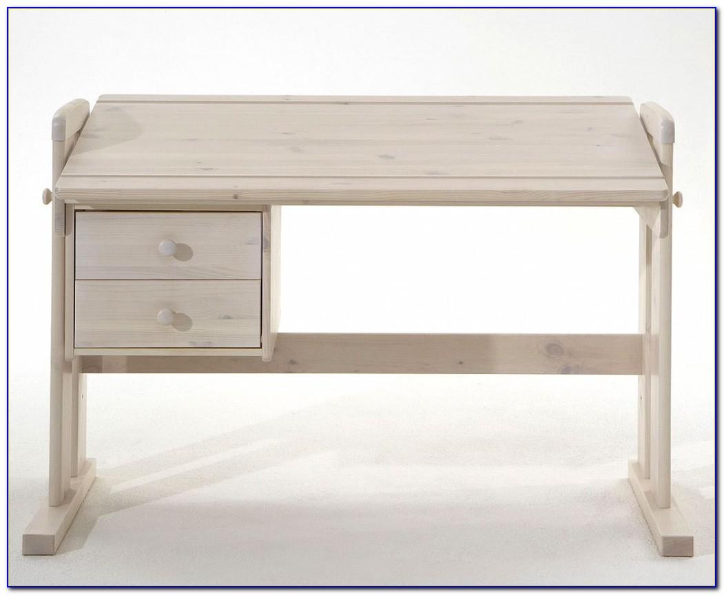 Schreibtisch Verstellbar Holz