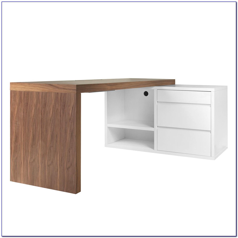 Schreibtisch Walnuss 100cm