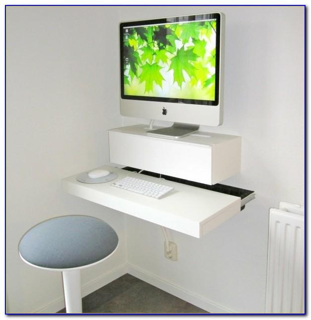 Schreibtisch Wandmontage Klappbar