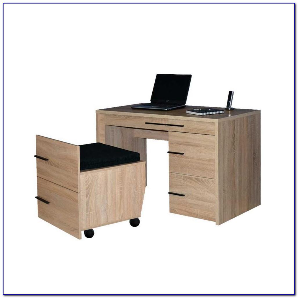 Schreibtisch Weiß 100 Cm