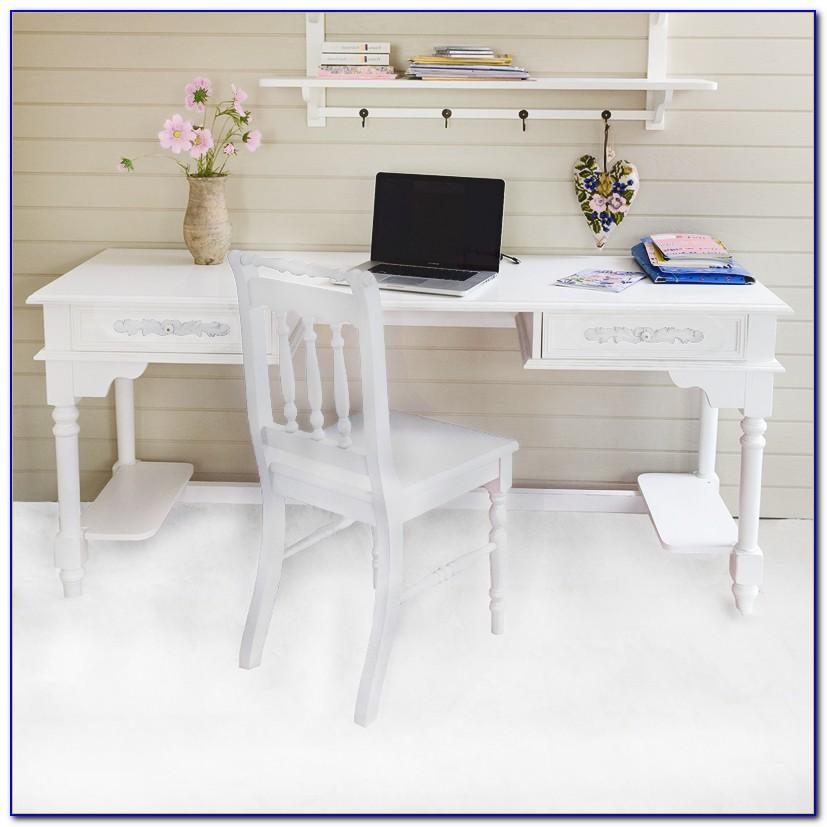 Schreibtisch Weiß Höhenverstellbar