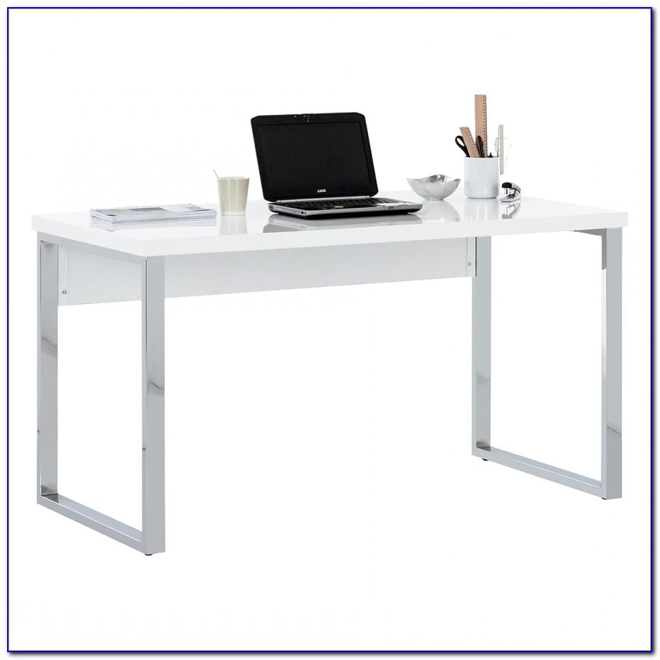 Schreibtisch Weiß Hochglanz 180