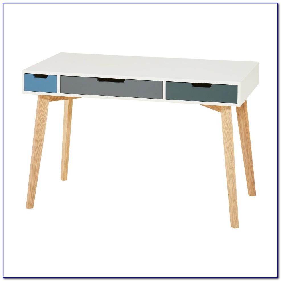 Schreibtisch Weiß Hochglanz Mit Schubladen
