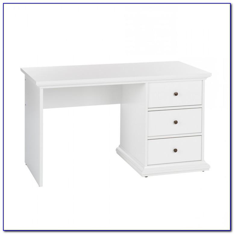 Schreibtisch Weiß Holz Landhaus