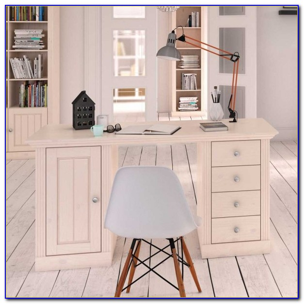 Schreibtisch Weiß Landhaus Ikea