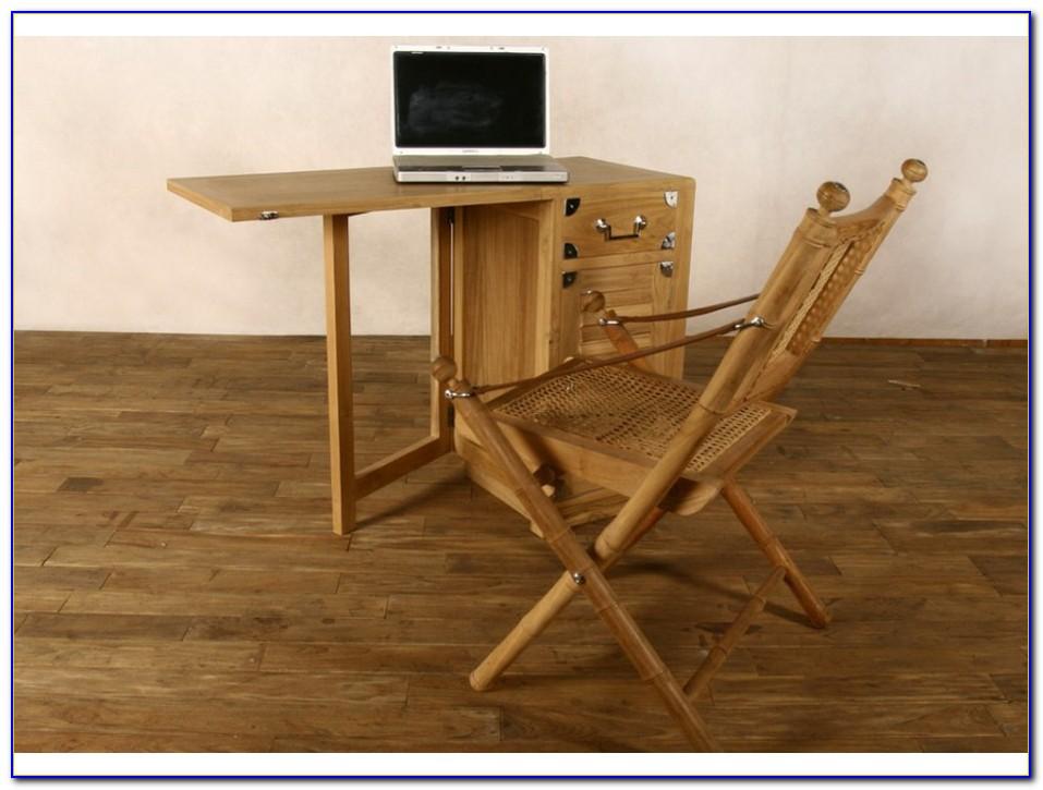 Schreibtisch Weiß Platzsparend