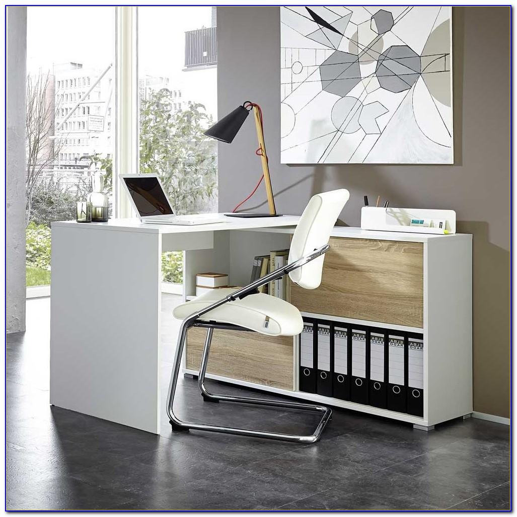 Schreibtisch Weiss Klein