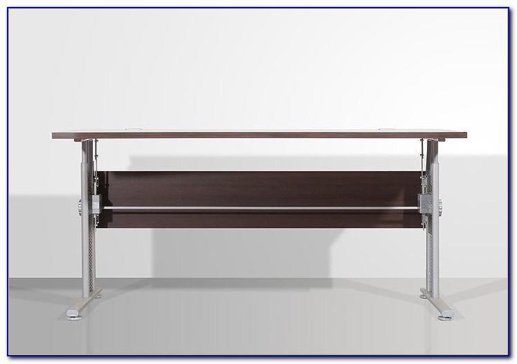 Schreibtisch Wenge Weiß