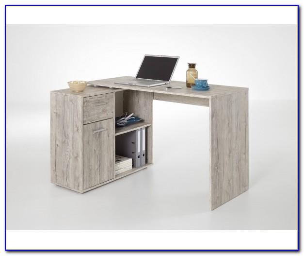 Schreibtisch Winkelkombination Bianconero