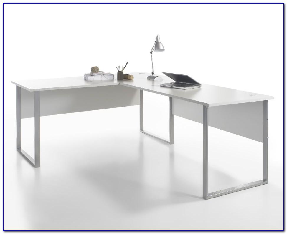Schreibtisch Winkelkombination Schwarz