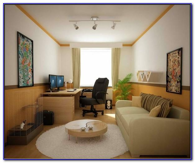 Schreibtisch Wohnzimmer Lösung