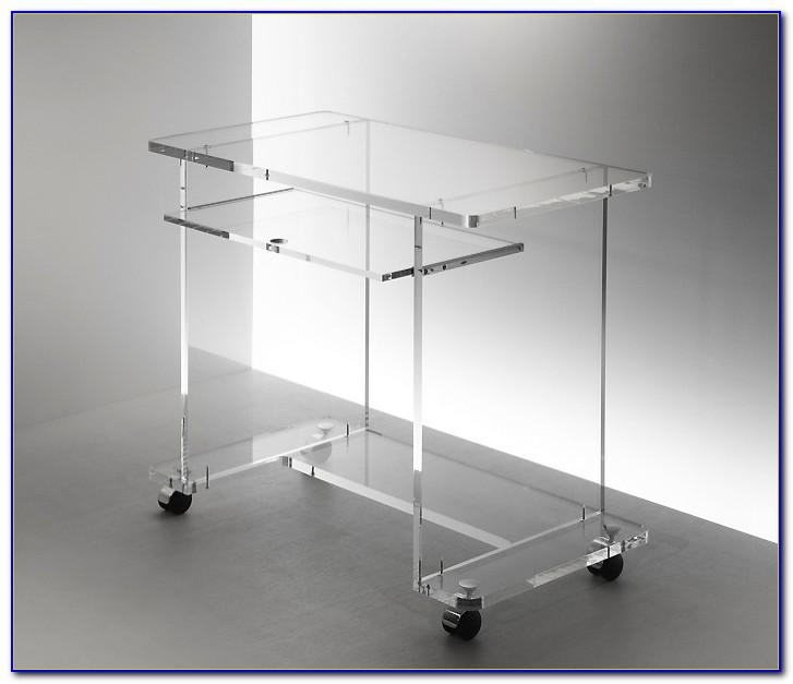 Schreibtischaufsatz Plexiglas