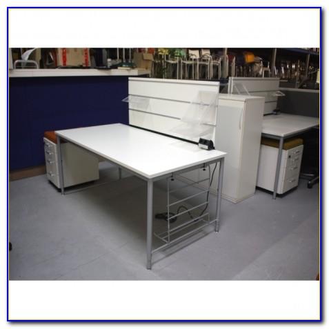 Schreibtischaufsatz Sichtschutz