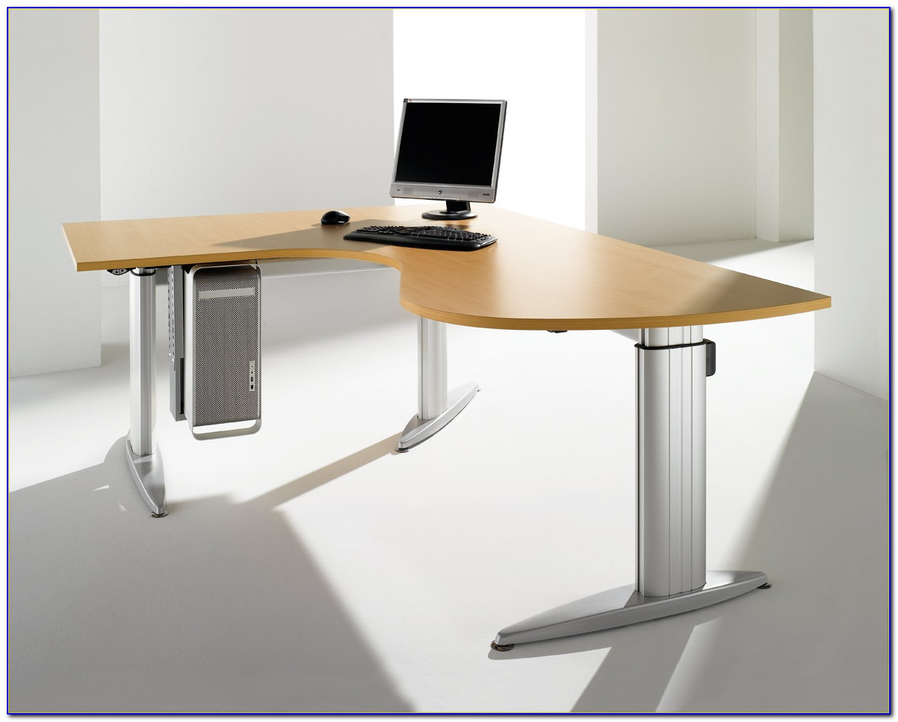 Schreibtische Höhenverstellbar Büro