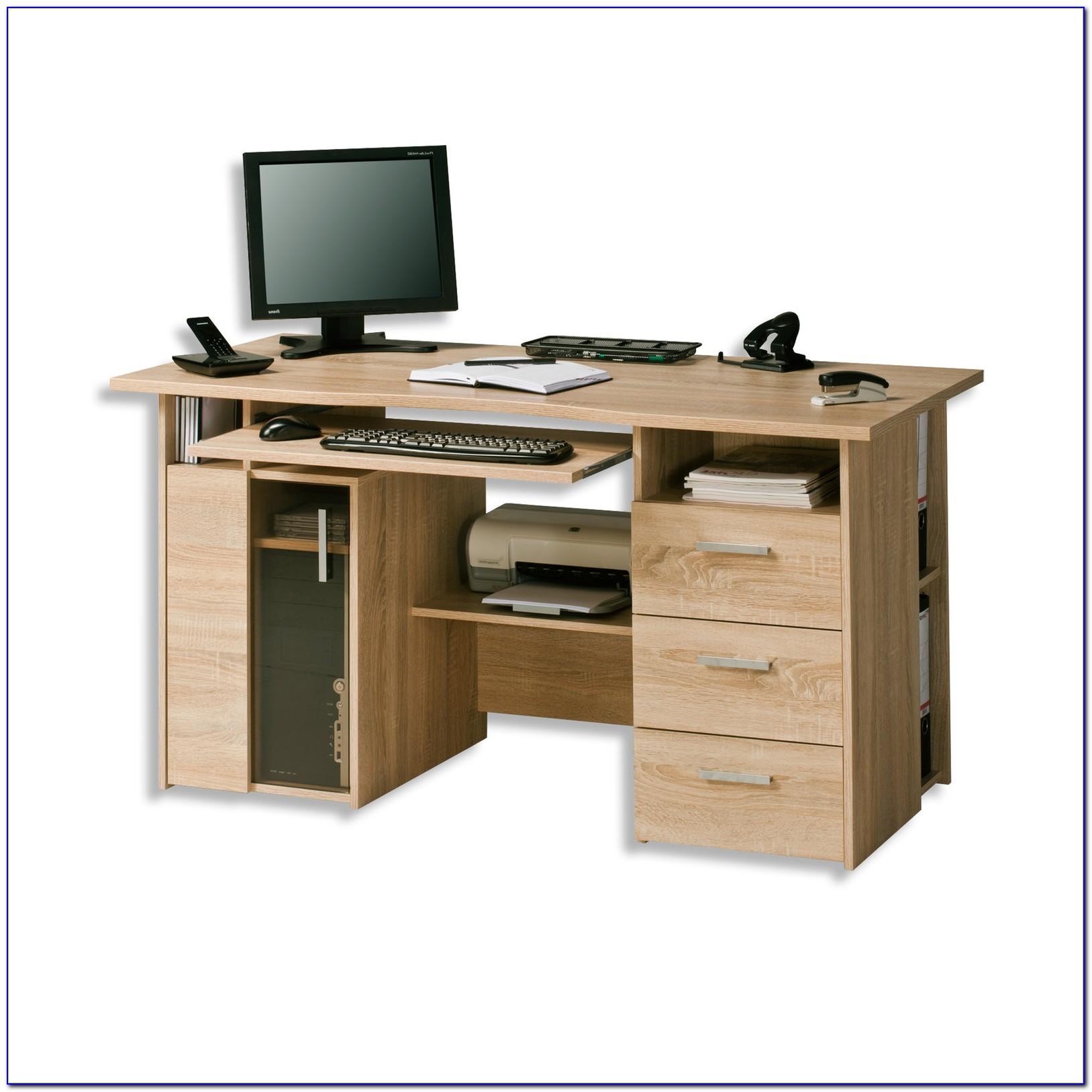 Schreibtische Möbel Braun