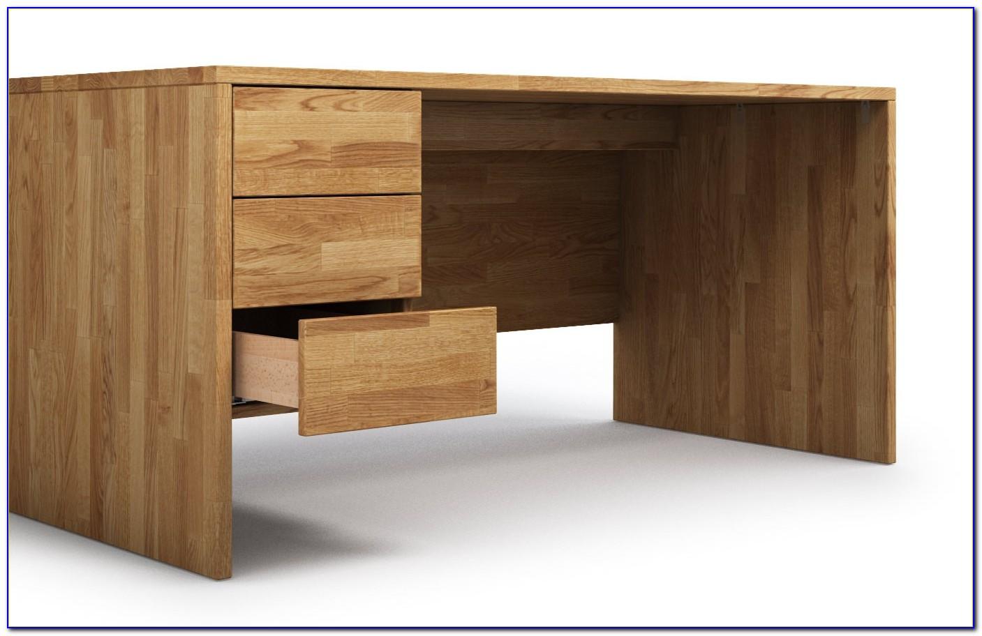 Schreibtische Massivholz Design