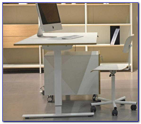 Schreibtischstuhl Fußstütze