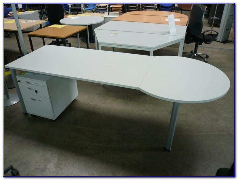 Schreibtischunterlage Halbrund