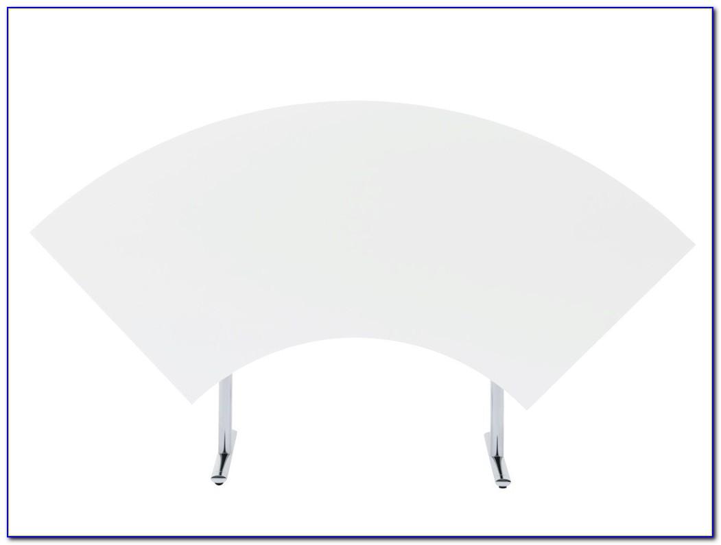 Schreibtischunterlage Runder Tisch