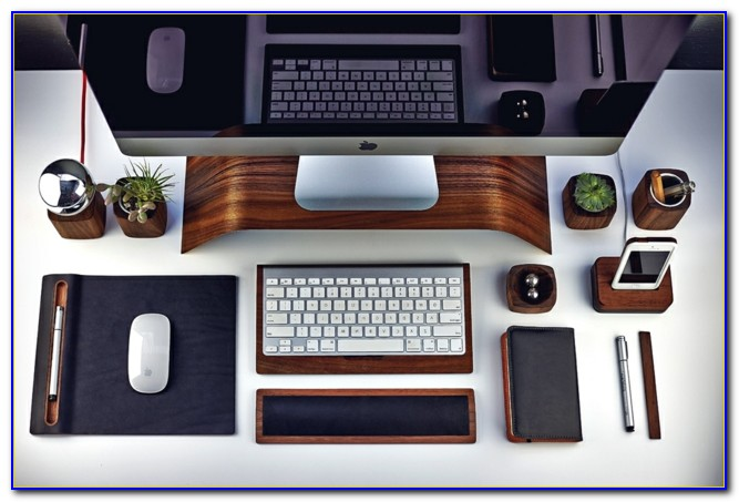 Schreibtischzubehör Holz