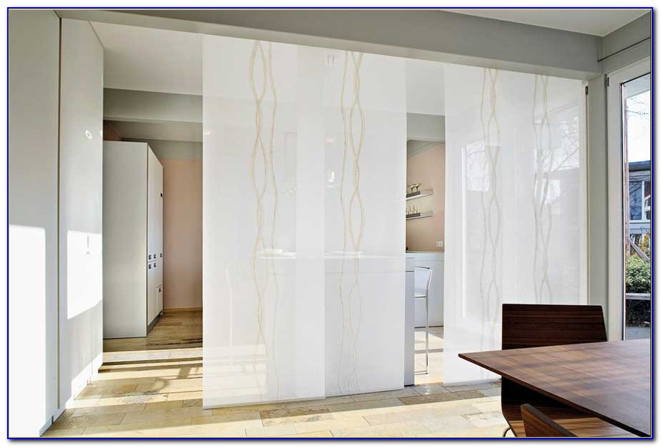 Schwerer Vorhang Als Raumteiler