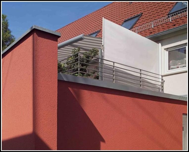 Seitlicher Sichtschutz Balkon
