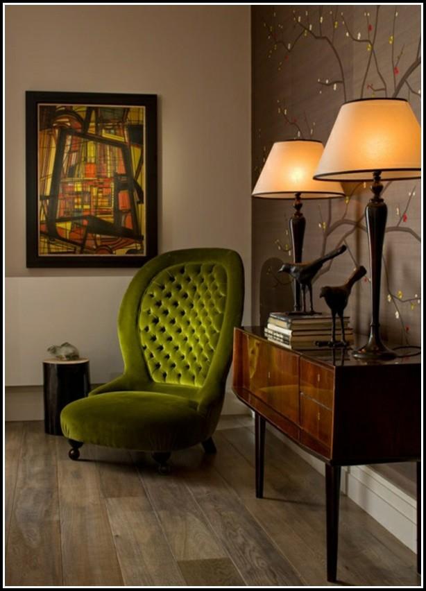 Sessel Art Deco Fuchsia