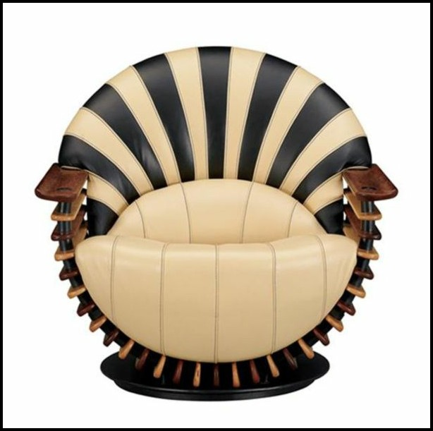 Sessel Art Deco Kare