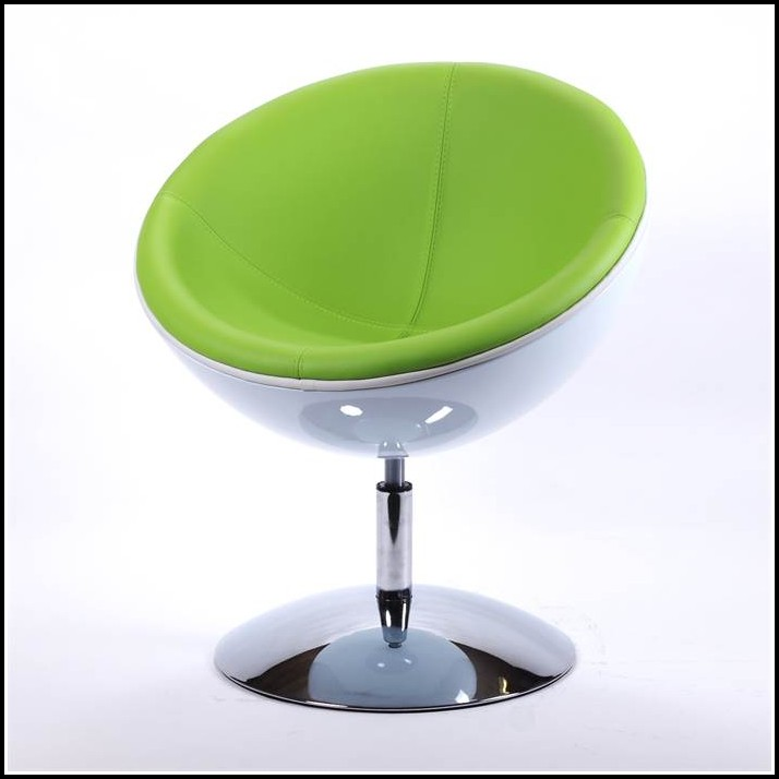 Sessel Lounge Eye Ball Chair Weiss