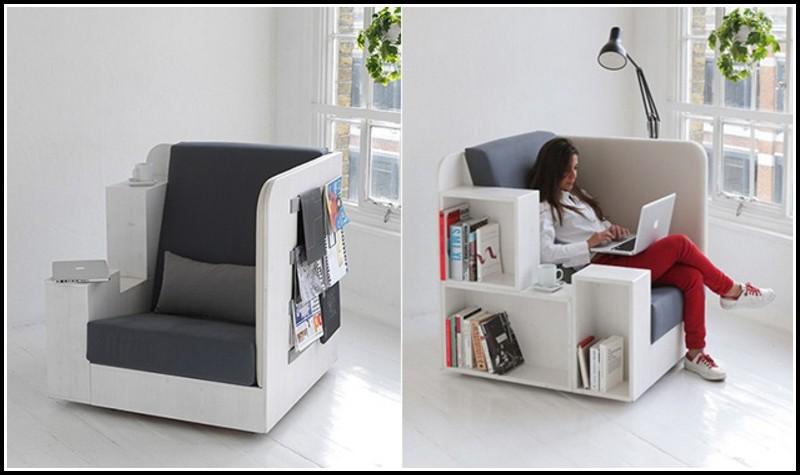 Sessel Mit Integriertem Tisch