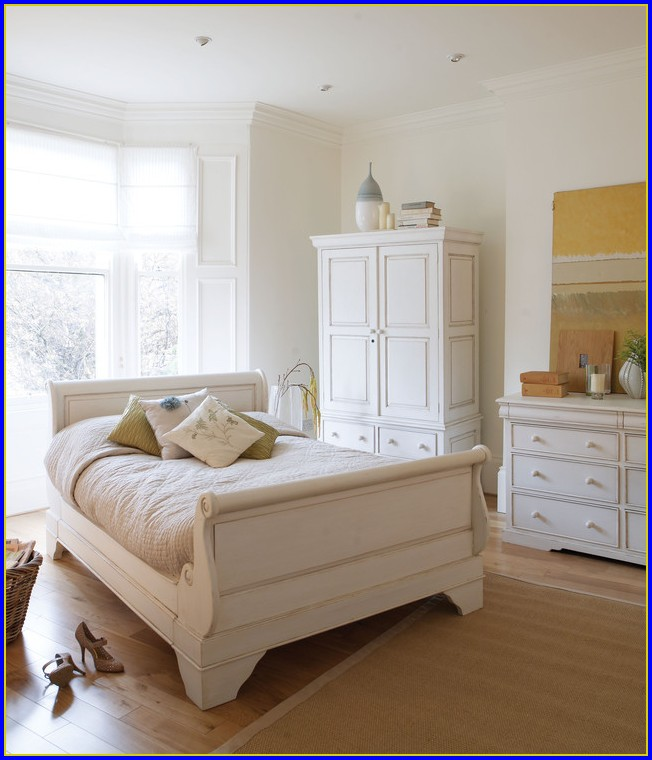 Shabby Chic Möbel Betten