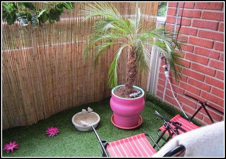 Sichtschutz Balkon Bambus Pvc