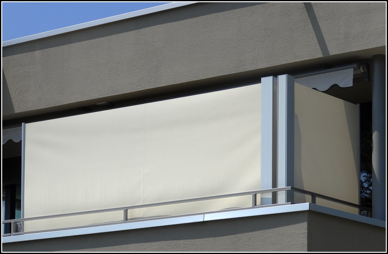Sichtschutz Balkon Seitlich Erlaubt