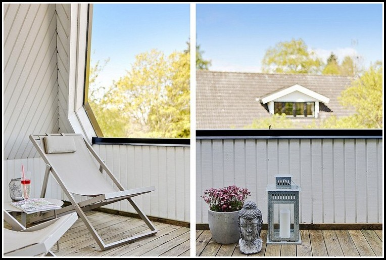 Sichtschutz Balkon Weidengeflecht