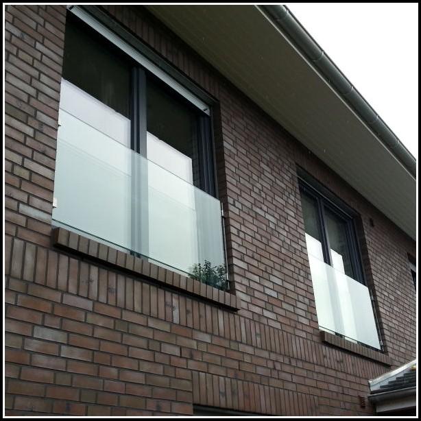 Sichtschutz Für Balkon Aus Glas