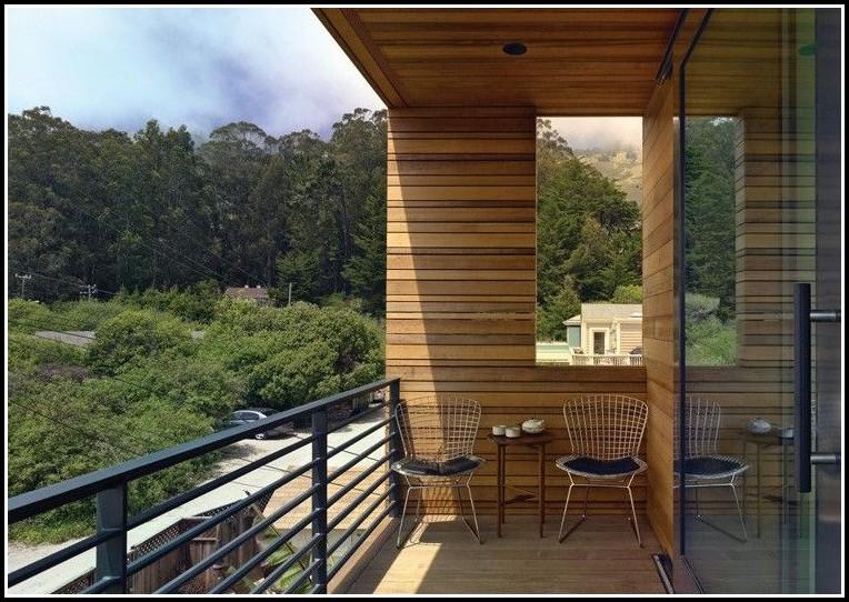 Sichtschutz Für Balkon Aus Holz