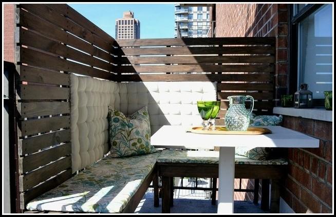 Sichtschutz Für Balkon Selber Machen