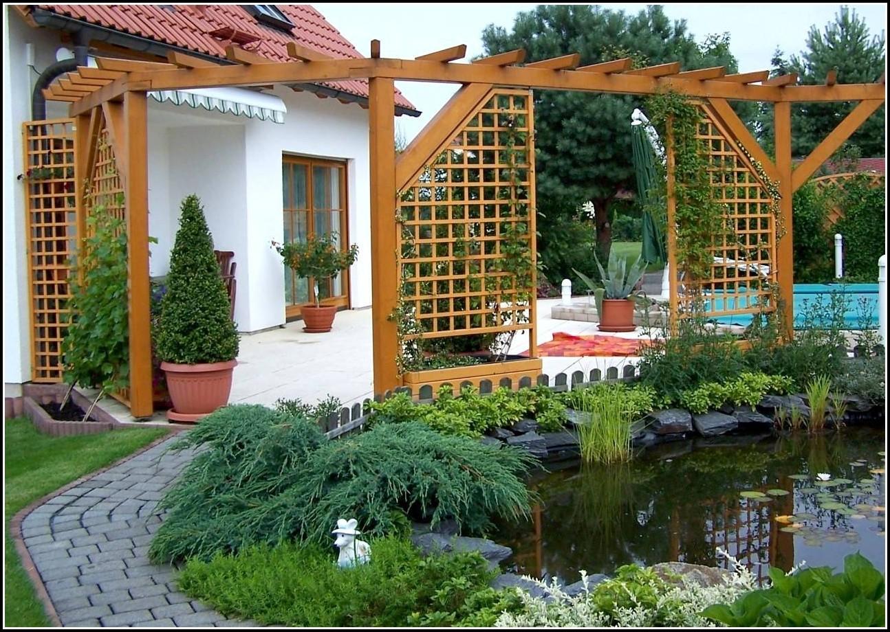 Sichtschutz Holz Für Terrasse